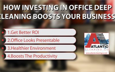 How Investing In Office Deep Cleaning Boosts Your Business?
