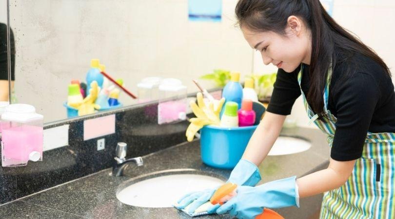 Office Bathroom Cleaning Fallriver