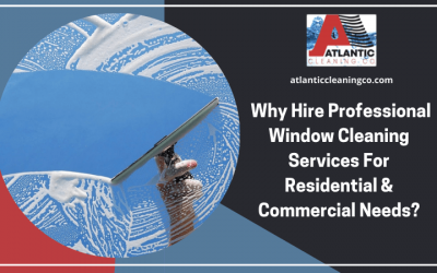 Why Hire Professional Window Cleaning Services For Residential and Commercial Needs?
