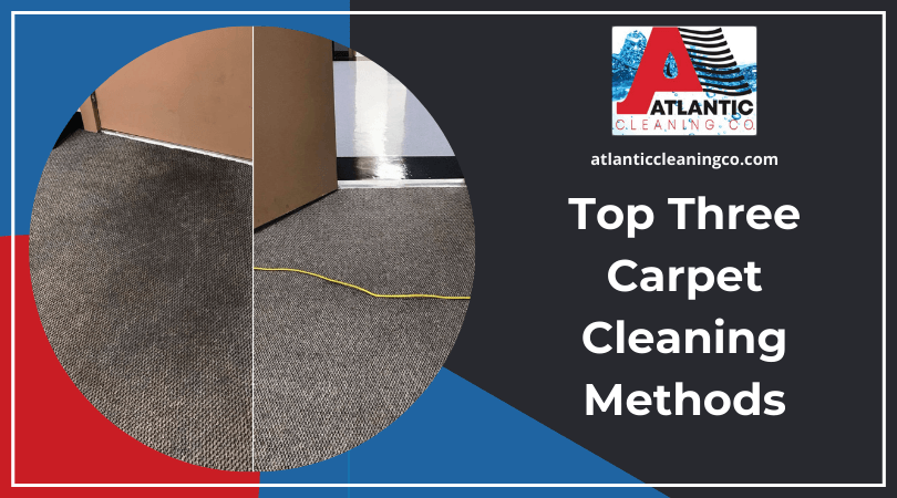 Three Carpet Cleaning Methods